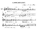 Веничек березовый - ноты песни